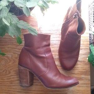 Dr. Scholl's block heel ankle boots